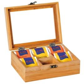 Kesper Bamboo Teabox 6 Compartments 58902