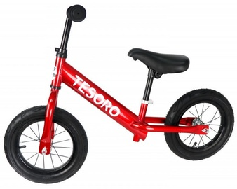 Balansinis dviratis Tesoro PL-12 Red Mettalic