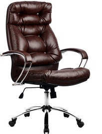 MN LK-14 Leather Office Chair Brown