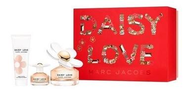 Marc Jacobs Daisy Love 100ml EDT + 75ml Body Lotion + 4ml EDT