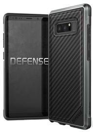 X-Doria Defense Lux Carbon Fiber Back Cover For Samsung Galaxy Note 8 Black