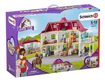Žaislinė figūrėlė Schleich Large Horse Stable With House And Stable 42416