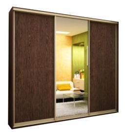 MN MN.3142017 3D Wardrobe w/ Sliding Doors Wenge