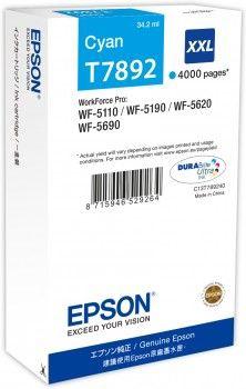 Rašalinio spausdintuvo kasetė Epson T7892 XXL Cyan