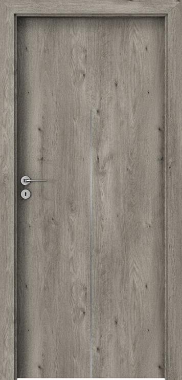"""Durų varčia """"Porta Line H1"""" sibiro ąžuolo 644x2030x40 dešinė"""