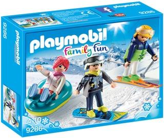 Playmobil Family Fun Winter Sports Trio 9286