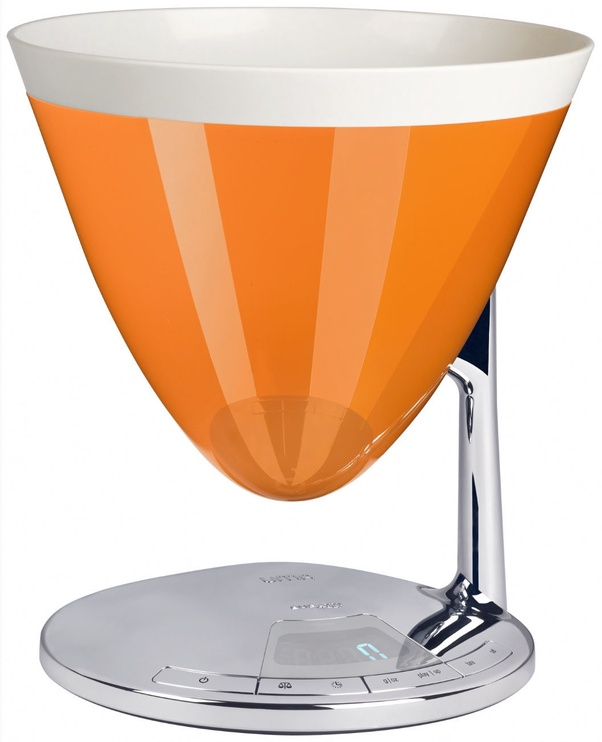 Bugatti Uma Kitchen Scale 56-UMACO Orange
