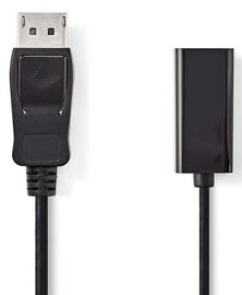 Nedis DisplayPort To HDMI Adapter Cable 0.2m Black