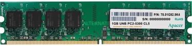 Apacer 1GB 667MHz DDR2 CL5 AU01GE667C5NBGC