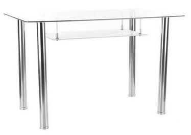 Signal Meble Hektor Table 120x70cm Transparent