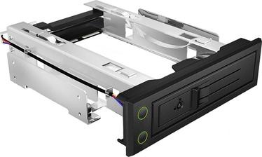 ICY BOX IB-166SSK-B 5.25'' Trayless Mobile Rack for 3.5'' SATA/SAS HDD