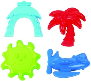 Smėlio žaislų rinkinys Ecoiffier 8/142S, 4 vnt.