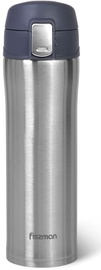 Fissman Double Wall Vacuum Travel Mug 420ml Grey