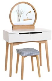 Songmics Vanity Table Wood/White