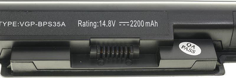 Green Cell Battery Sony Vaio VGP-BPS35A 2200mAh