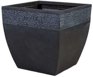 Home4you Flowerpot Flore-1 H43cm Dark Gray