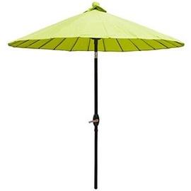 Pludmales lietussargs Verners, 2130 mm, zaļa