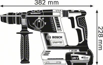 Perforaator Bosch GBH 18V-26 F L-Boxx Rotary Hammer