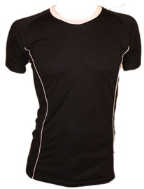 Bars Mens Football Shirt Black/White 185 L