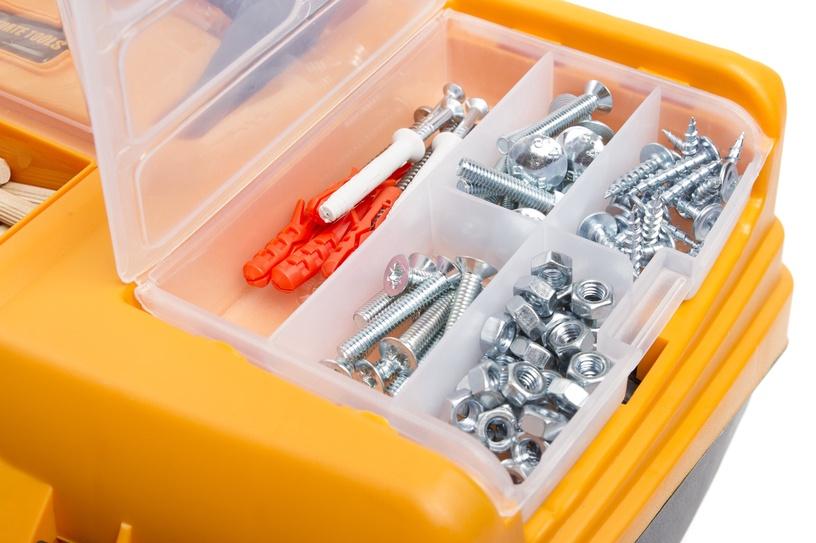 Коробка Forte Tools RLO-17 Toolbox 434x238x250mm Black/Yellow