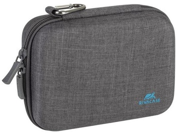 Rivacase Canvas Action Camera Case Grey