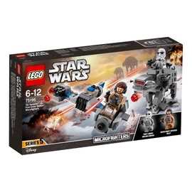 Конструктор LEGO Star Wars Ski Speeder vs. First Order Walker Microfighters 75195 75195, 216 шт.