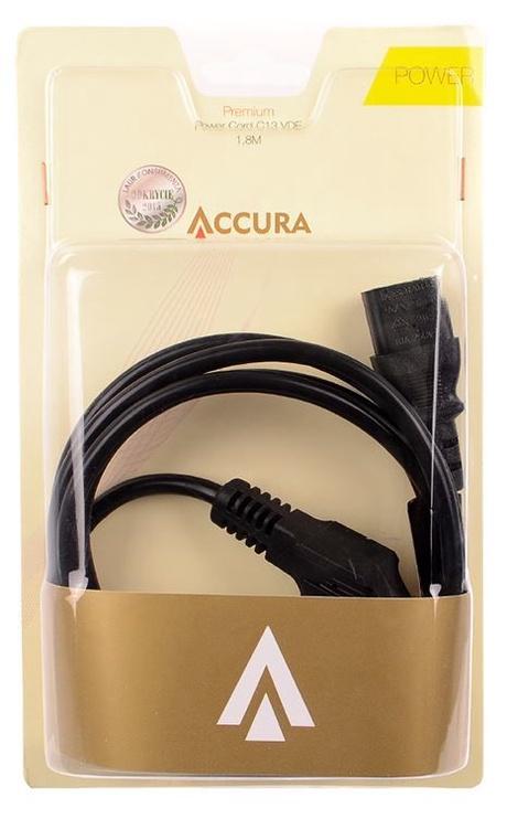 Accura Cable Schuko / IEC320 C13 Black 1.8m