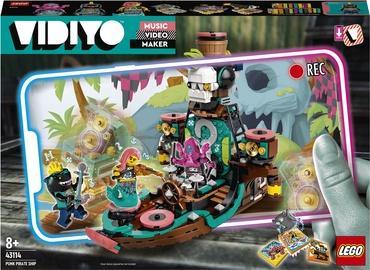 Конструктор LEGO VIDIYO Корабль Пирата Панка 43114, 615 шт.