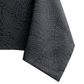 Скатерть AmeliaHome Gaia HMD Dark Grey, 155x350 см