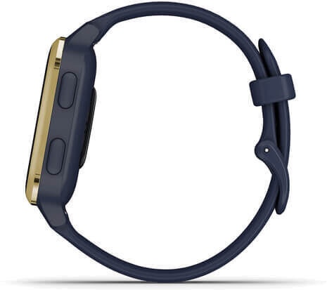 Умные часы Garmin Venu Sq Music Edition Navy / Light Gold