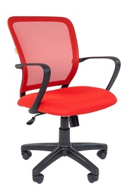 Chairman 698 Office Chair TW Red/Black