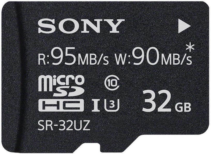 Sony 32GB Micro SDHC UHS-I U3 Class 10