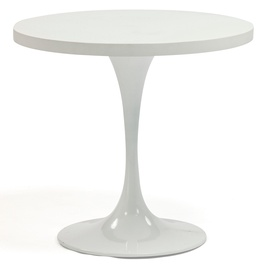 Dārza galds Home4you Bolgheri 18643, balta