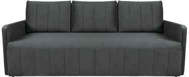 Sofa-lova Black Red White Dessa Paros 6 Grey, 210 x 111 x 90 cm
