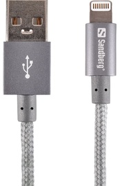 Sandberg Cable USB to Apple Lightning Grey 1m