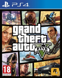 Žaidimas Grand Theft Auto 5 PS4