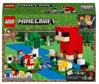 Конструктор LEGO Minecraft Шерстяная ферма 21153, 260 шт.