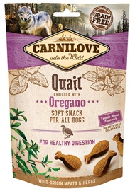 Carnilove Dog Snack Quail with Oregano 200g
