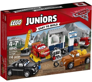 Konstruktors LEGO Juniors Smokey's Garage 10743
