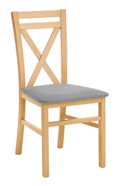 Halmar Dariusz Chair Honey Oak Grey