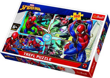 Trefl Puzzle SpiderMan: Man to the Rescue 160pcs 15357