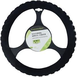 Оплетка руля Carmotion Soft Steering Wheel Cover 37-39cm Black