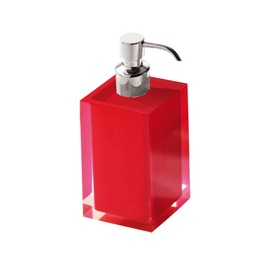 Gedy Rainbow Liquid Soap Dispenser 0.7l Red