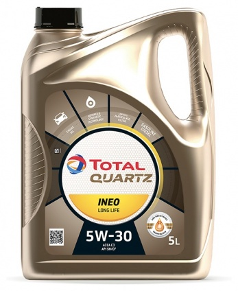 Motoreļļa Total Quartz Ineo Long Life 5W/30 Engine Oil 5l