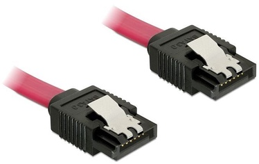 Delock Cable SATA / SATA Red 0.3m