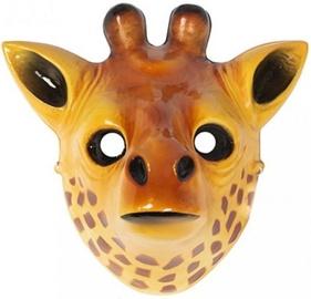 Maska Giraffe, brūna/dzeltena, 220 mm