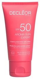 Decleor Aroma Sun Expert Protective Anti Wrinkle Cream SPF50 50ml