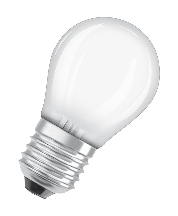 LAMPA LED P45 4W E27 2700K 470LM MAT