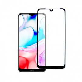 Glass Full Cover Xiaomi Redmi 8 black