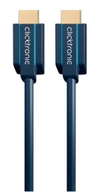 Clicktronic Cable HDMI To HDMI 15m Blue